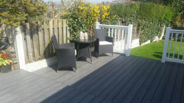 PVC Composite Decking board