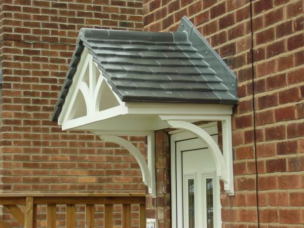 Cheltenham Grey Roof Door Canopy