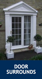Door Surrounds. Door Canopies & Cheltenham Door Canopy