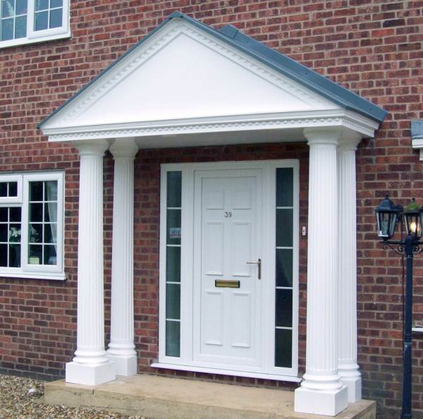 Portico Entrance Door canopy